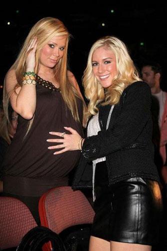 图文:超级碗色情门主角写真 怀孕时的珍娜