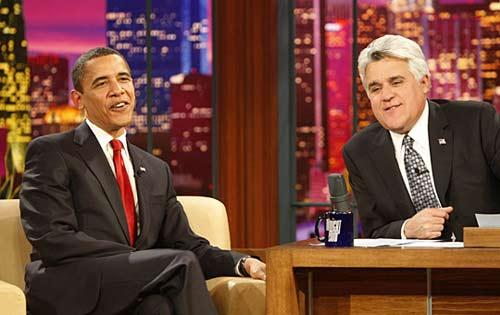 奥巴马参加美国脱口秀节目创先例