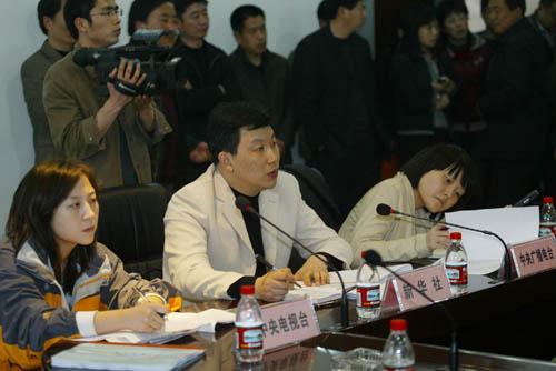 中央新闻媒体来参加民权县手足口病疫情信息通报会
