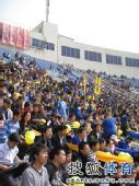 图文:[中超]陕西2-0成都 陕西看台满满