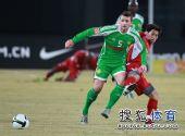 图文:[中超]北京3-1重庆 马季奇争抢