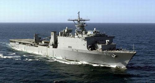 美国海军惠德贝岛船坞登陆舰