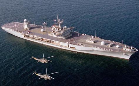 美国海军蓝岭号两栖指挥舰