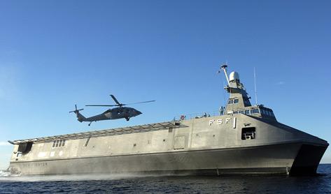 """美国海军""""海上战士""""号高速船"""