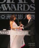 图:印度女星朴雅卡-乔普拉获得电影票房大奖