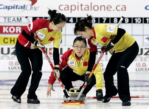 中国冰壶女队