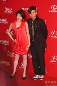 第3届亚洲电影大奖红毯 小肥与唐素琪结伴搞怪
