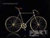 Aurumania限量足金自行车(组图)