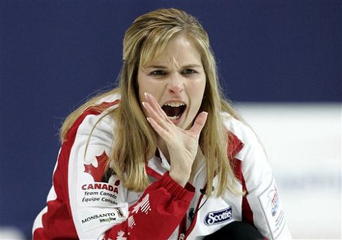 加拿大美女怒吼