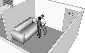 1.面试结束后,李老板突然将女孩摁倒在沙发上。