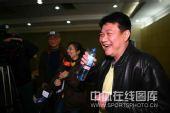 图文:蔡斌在秦皇岛考察队员 蔡斌哈哈大笑