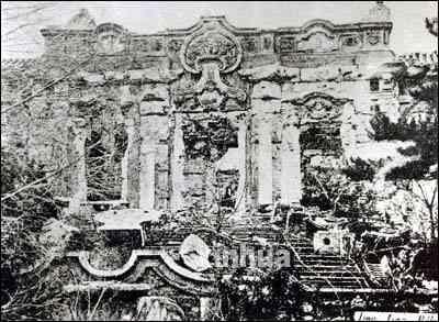 火烧圆明园的历史真相图片
