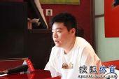 图文:丁俊晖参加动漫发布会 面对比赛信心十足