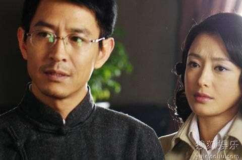 郭晓峰和秦岚在《红色电波》