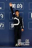 图文:男子十米跳台决赛 戴利获得第三名