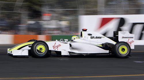 图文:F1澳大利亚大奖赛正赛 巴顿风驰电掣