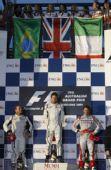 图文:F1澳大利亚大奖赛 新赛季首站领奖台