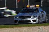 图文:09年F1澳大利亚大奖赛 安全车出动