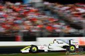 图文:09年F1澳大利亚大奖赛 巴顿在比赛中