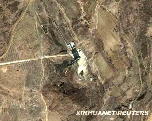 09朝鲜试射消息    这张3月29日快鸟(quickbird)卫星拍摄的图像显示的