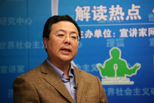 国防大学战略研究所孟祥青教授做客。