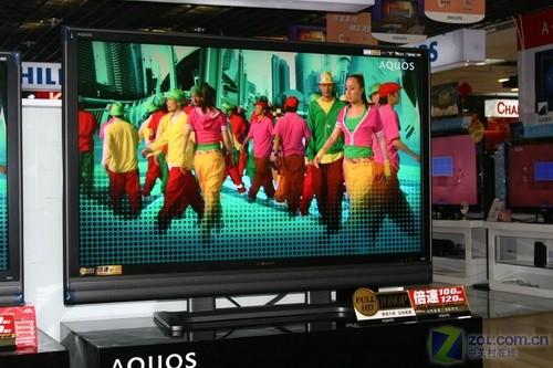 电视减肥成壁画 超薄夏普46吋促销中