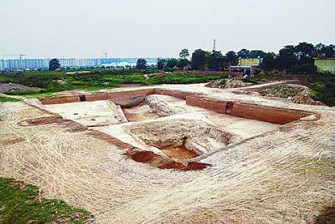 杨官寨遗址可能是五六千年前的原始城镇