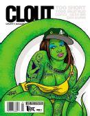 绿色蜥蜴大妞!涂鸦杂志联手滑板艺术家推T恤
