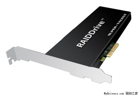惊人1.3GB/s!Super Talent PCI-E接口2TB固态硬盘宣布