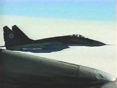 朝鲜空军的米格-29战机