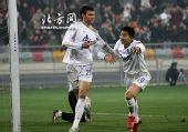 图文:[中超]天津2-0重庆 爷们!说进就进