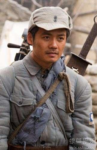 林熙越在电视剧《勋章》中任主角马宝才