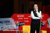 图文:中国公开赛决赛颁奖礼 希金斯大势已去
