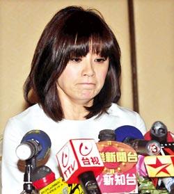 贾静雯昨向法院声请停止孙志浩监护权的假处分