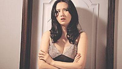 要做黄秋生的女人,孟瑶坦言感到压力。