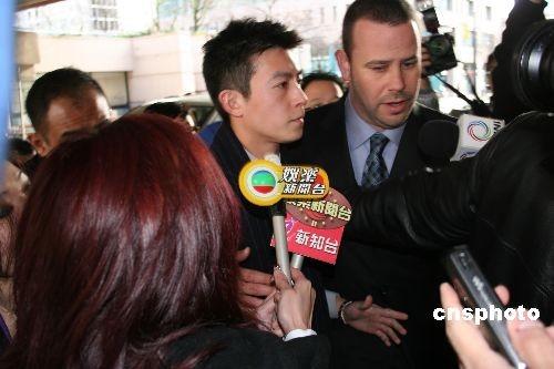 """轰动一时的香港""""艳照门""""男主角陈冠希2月23日首次在温哥华出庭作证"""