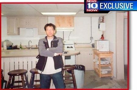 这张由纽约希拉库扎电视台《新闻早十点》4月6日(周一)提供的照片并未标明日期。