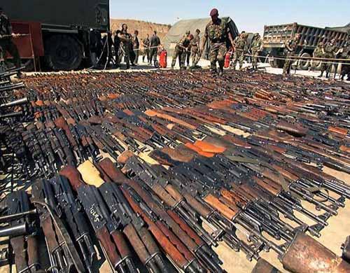 AK系列步枪盛行各地冲突场地