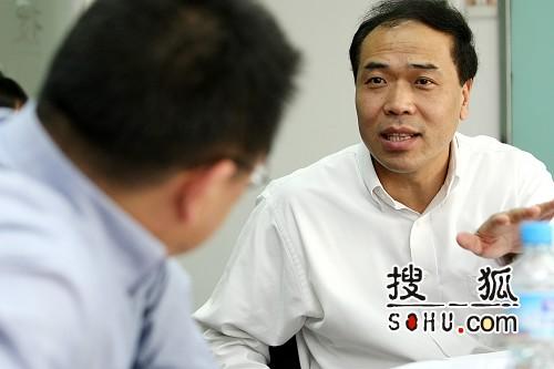 北大人民医院院长、外科教授王杉(搜狐-王玉玺/摄)
