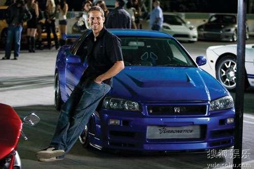 保罗-沃克和他的1998-Nissan