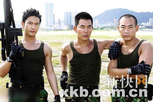 Huang Xiaoming, Richie Jen, Bowie Lam