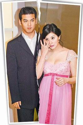 孙志浩(左)与贾静雯4年婚姻路风雨飘摇