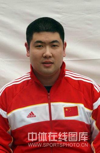图文:中国新一届女排大点兵 队医王凯