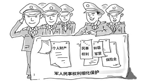 军旅壁纸手绘漫画