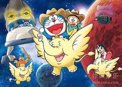 《多拉A梦09剧场版:大雄的宇宙开拓史》-4月5日日本票房 多啦A梦 图片