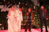 图:丫蛋王金龙结婚 一对新人在婚礼现场