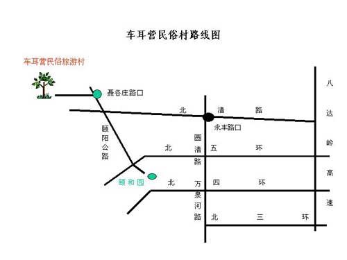 凤凰岭自然风景区 车耳营民俗村(图)03
