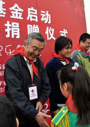 中国红十字基金会常务副理事长汤声闻