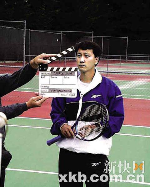 《网球王子2》热拍张德培确定演搞笑教练(图育英学校v教练图片