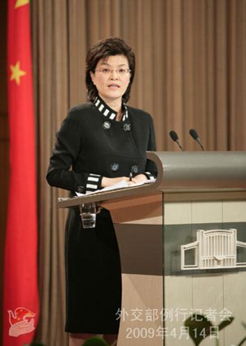外交部发言人姜瑜